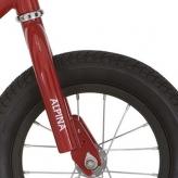 Widelec rowerowy Alpina czerwony