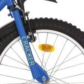 """Widelec rowerowy Alpina Cracker 20"""" niebieski"""