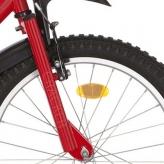 """Widelec rowerowy Alpina Cracker 20"""" czerwony"""