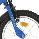 """Widelec rowerowy Alpina Cracker 16"""" niebieski"""