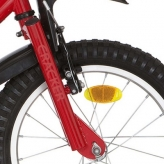 """Widelec rowerowy Alpina Cracker 16"""" czerwony"""
