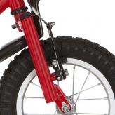 """Widelec rowerowy Alpina Cracker 12"""" czerwony"""