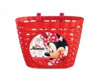 Koszyk rowerowy przód plastik Disney Minnie