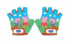 Rękawiczki dziecięce na rower Świnka Peppa