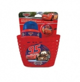 Zestaw koszyk bidon dzwonek Disney Cars