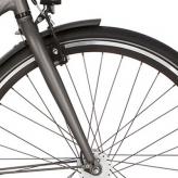 "Widelec rowerowy Cortina Mozzo 28"" mat stone"