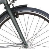 "Widelec rowerowy Cortina Mozzo 28"" mat irestone pearl"