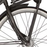 "Widelec rowerowy Cortina Ecomo U4 Transport 28"" black graphite mat"