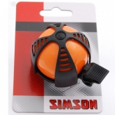 Dzwonek rowerowy dziecięcy Simson Joy pomarańczowy