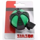 Dzwonek rowerowy dziecięcy Simson Joy zielony