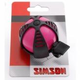 Dzwonek rowerowy Simson Joy różowy