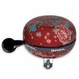 Dzwonek rowerowy Basil Bloom 80mm czerwony
