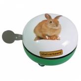Dzwonek rowerowy ding dong 80mm królik