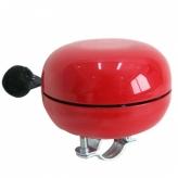 Dzwonek rowerowy ding dong 80mm czerwony