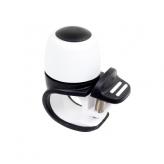Dzwonek rowerowy Widek Compact II biały - czarny