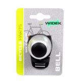 Dzwonek rowerowy Widek Compact II srebrny