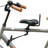 Siodełko dziecięce na ramę rower męski