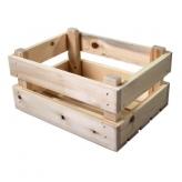 Skrzynia transportowa drewniana mini
