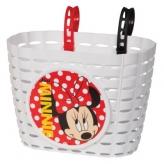 Koszyk rowerowy dziecięcy Widek Minnie Mouse biały