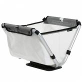 Koszyk rowerowy przedni składany Yepp Cargo Flexx biały
