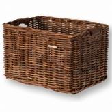 Koszyk rowerowy przedni Basil Dorset L brązowy