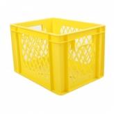 Skrzynia transportowa żółta