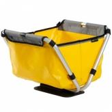 Koszyk rowerowy przedni składany Yepp Cargo Flexx żółty