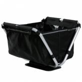Koszyk rowerowy przedni składany Yepp Cargo Flexx czarny