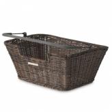 Koszyk rowerowy tylny Basil Capri Flex brązowy