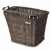 Koszyk rowerowy przedni Basil Basimply brązowy