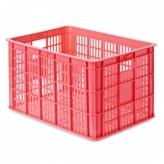 Skrzynia transportowa Basil Crate L duża czerwona