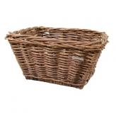 Koszyk rowerowy wiklina Basil Dalton M brązowy