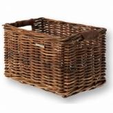Koszyk rowerowy wiklina Basil Dorset M brązowy