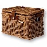 Koszyk rowerowy wiklina Basil Denton M brązowy