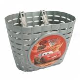 Koszyk dziecięcy rowerowy Widek Cars 2 srebrny