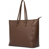 Cortina milan handbag, pu-leather, brown