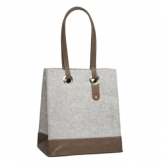 Cortina minsk basket bag felt grey