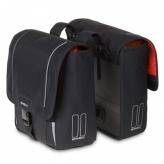 Sakwa rowerowa 2-komorowa Basil Sport Design-Double Bag czarna