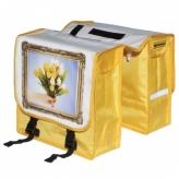 Sakwa rowerowa 2-komorowa NV tulipany