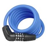 Zapięcie rowerowe Abus 5510c/180 szyfr niebieskie