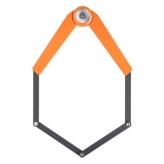 Zapięcie rowerowe składane axa toucan 120cm pomarańczowe
