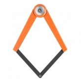 Zapięcie rowerowe składane axa toucan 80cm pomarańczowe