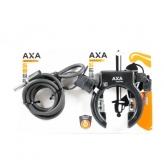 Zapięcie rowerowe Axa Solid Plus + linka Axa Newton PI150