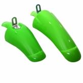 Komplet błotników kawasaki kmx 16'' zielone