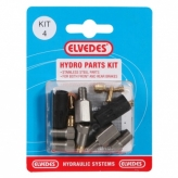 Zestaw naprawczy do hamulców hydraulicznych magura / avid / hayes nine elvedes set 4