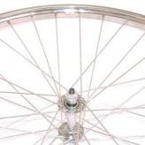 Koło rowerowe przednie merkloos 28'' x 1 3/8 chromowane