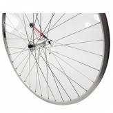 Koło rowerowe przednie merkloos 28'' szare