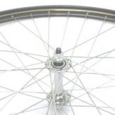 Koło rowerowe przednie merkloos 28'' x 1 1/2  czarne złote szparunki