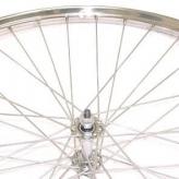 Koło rowerowe przednie merkloos 28'' x 1 1/2 tour chromowane
