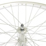 Koło rowerowe przednie merkloos 26'' x 1 3/8 srebrne